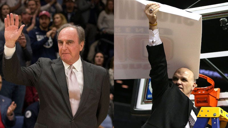 Illustration for article titled The City Got Too Big For Fran Dunphy And Phil Martelli