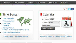 Illustration for article titled TimeAndDate.com Is an All-In-One Time and Travel Dashboard