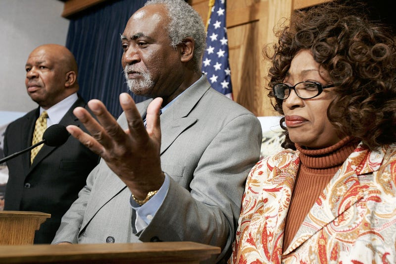 Rep. Danny Davis (D-Ill., center) in 2006Alex Wong/Getty Images