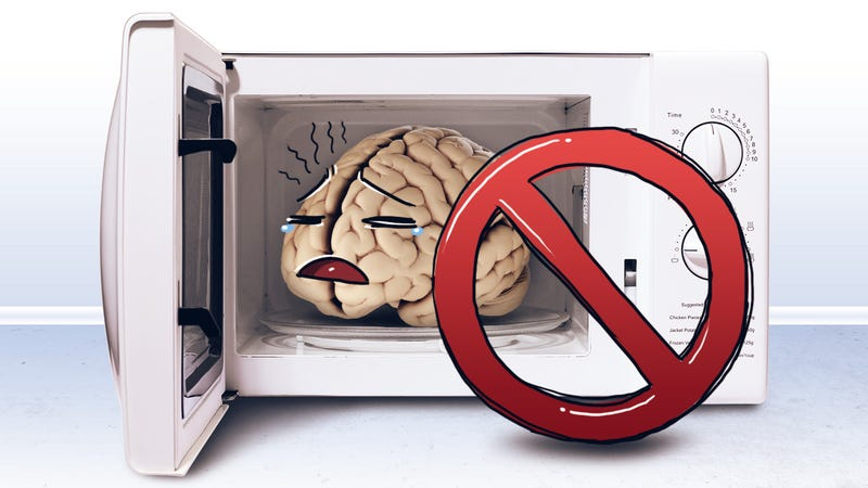 "Illustration for article titled Re-Train Your Brain to Overcome ""Microwave Mentality"""