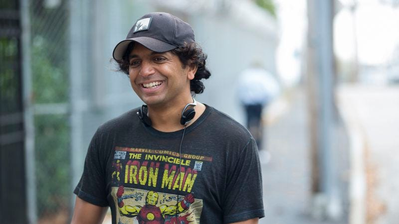 Shyamalan on the set of Split (Photo: Universal Picutres)