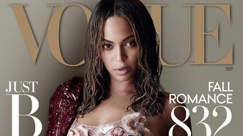 Illustration for article titled Vogue Doesn't Get a Beyoncé Interview Even When They Put Her on Their Dang Cover