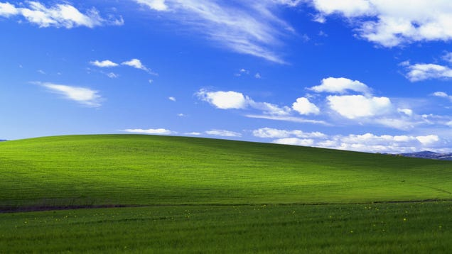 I'm Packing My Bags to Visit the Real-Life Inspiration for Windows XP's Wallpaper