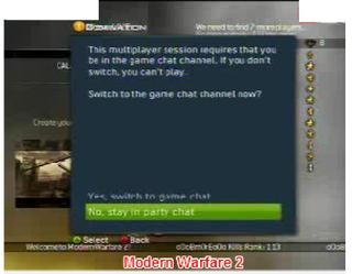 Illustration for article titled Party Chat Not Fully Supported in Modern Warfare 2