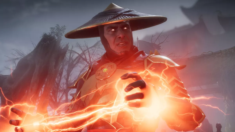 Raiden by Mortal Kombat.