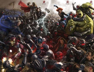 Illustration for article titled Are We Getting a New Avengers Line-Up at the End of Age of Ultron?