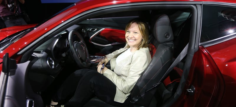 Illustration for article titled General Motors CEO Mary Barra Was On Hillary Clinton's List Of Possible VP Candidates