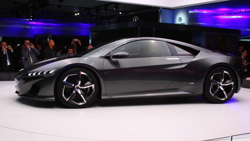 Illustration for article titled The Acura NSX Concept Is The Acura We Really Care About