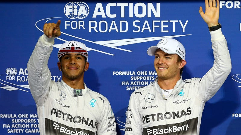 """Illustration for article titled Why Mercedes Having A """"Shrink"""" At Abu Dhabi Is Nothing Crazy"""