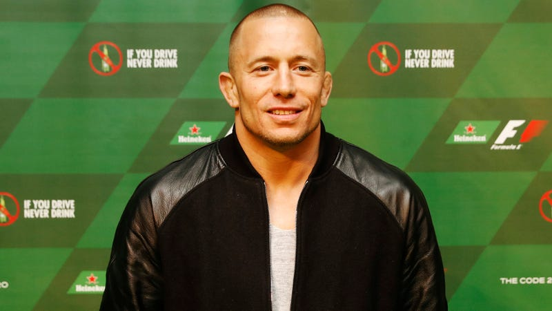 Former (and future?) MMA fighter Georges St-Pierre. Photo credit: Mark Blinch/Getty