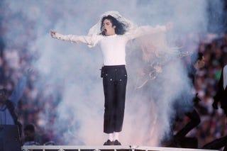 Michael Jackson in 1993