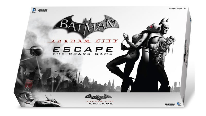 Illustration for article titled Play As Batman Or His Foes In The Upcoming Arkham City Board Game