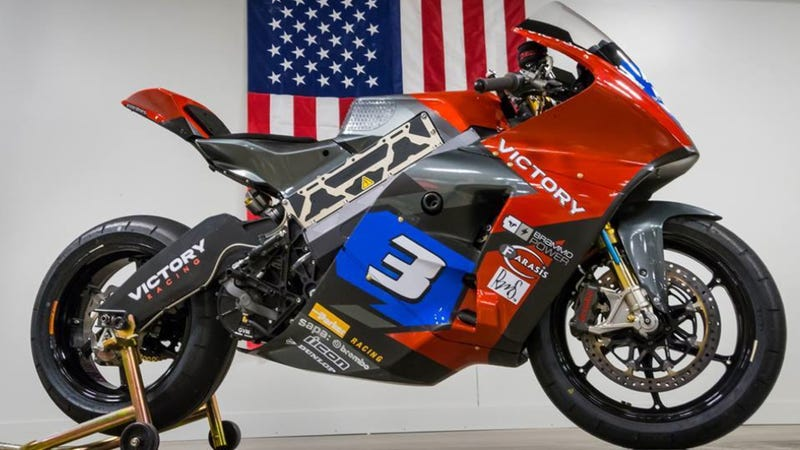 Illustration for article titled FOUND: Electric Isle Of Man TT Race Bike Stolen In Oregon
