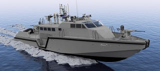 Illustration for article titled The Navy's Long Overdue Smart & Deadly Patrol Boat Has Arrived