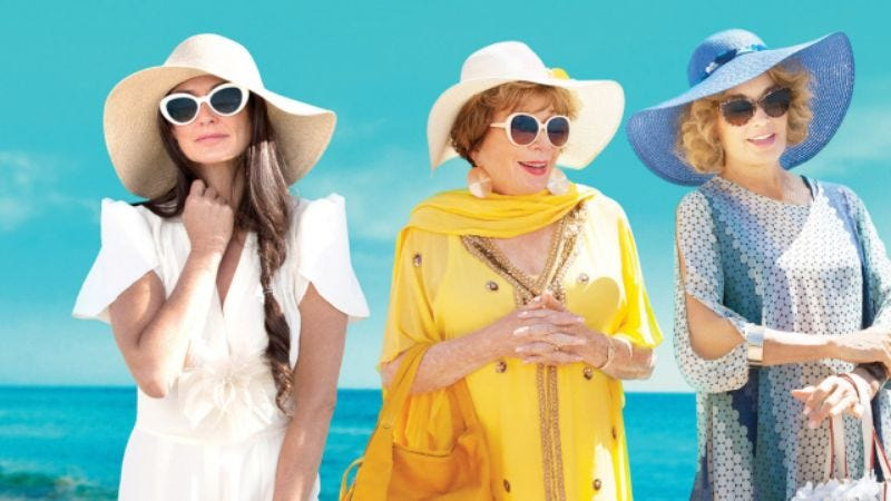 Demi Moore, Shirley MacLaine, and Jessica Lange in Wild Oats (Photo: Lifetime)