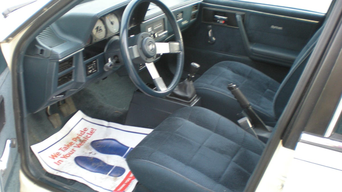 1985 buick skyhawk specs