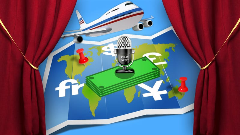 Illustration for article titled Ask an Expert: All About Managing Money While Traveling Abroad