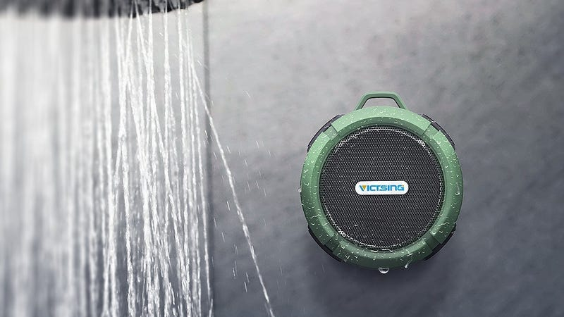 VicTsing Shower Speaker, $14 with code T4H6U7SS
