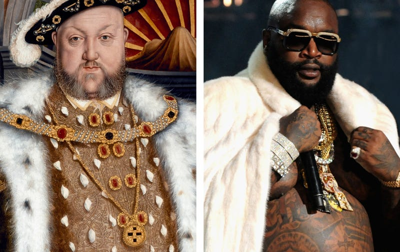 Illustration for article titled Rap stars and their uncanny Renaissance artdoppelgangers