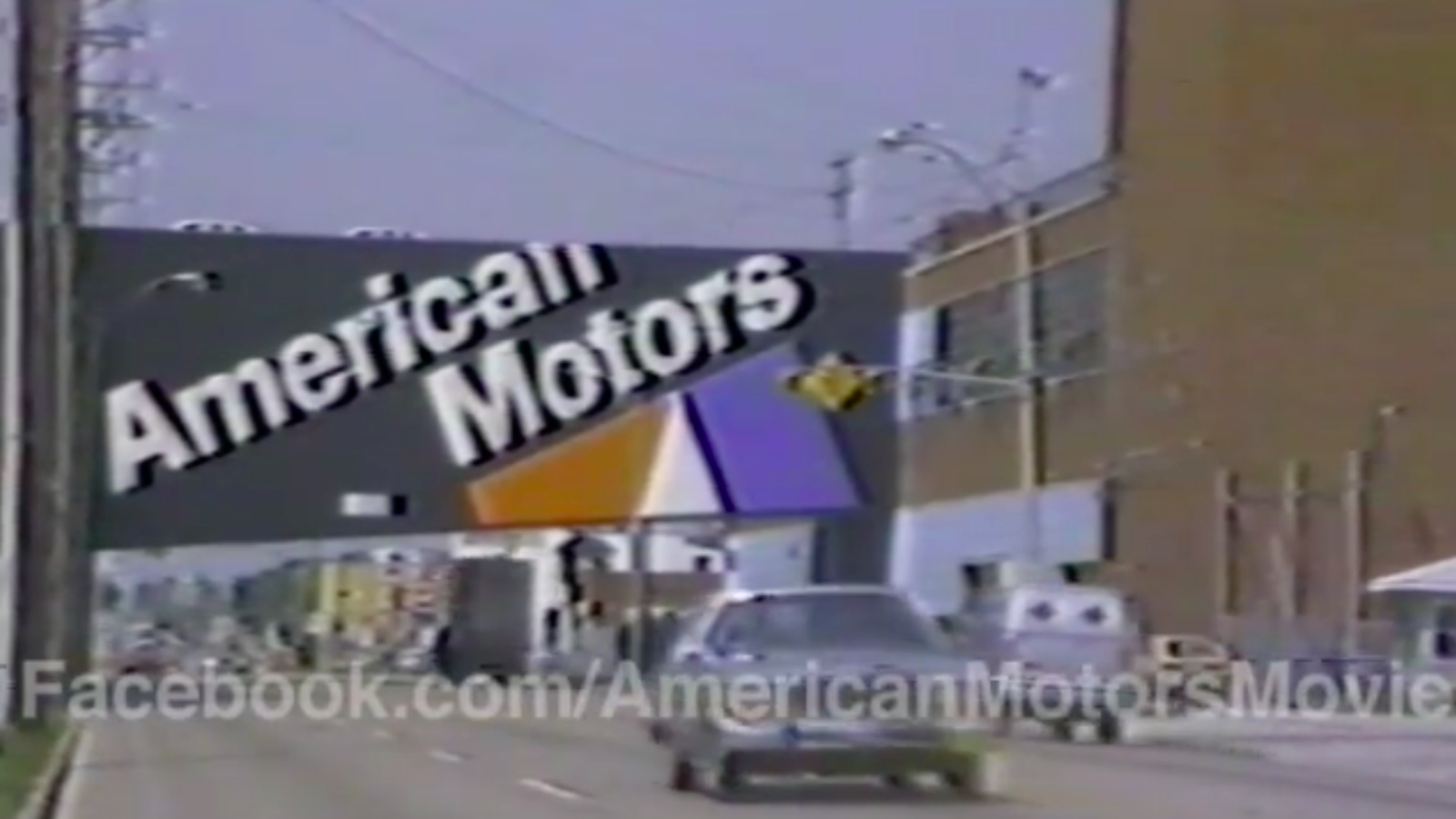 Watch Long-Lost Factory Tour Footage of American Motors' Doomed