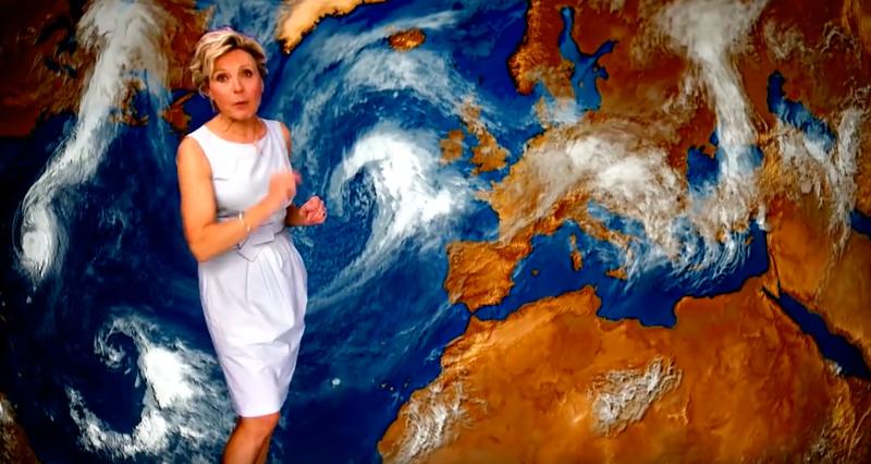 Illustration for article titled En 2014 una televisión imaginó cómo sería el clima en 2050. Le sobraron 31 años