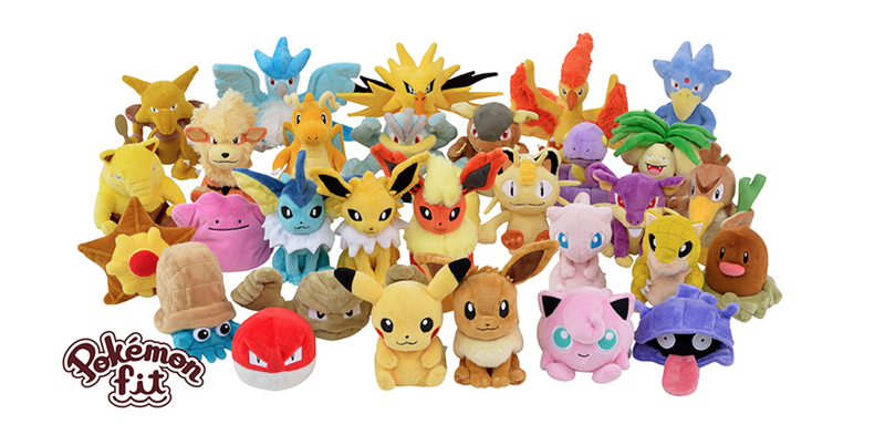 Illustration for article titled All 151 Original Pokémon Are Getting New Plush Toys In Japan