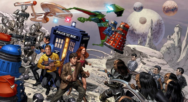 Illustration for article titled io9's March TV Madness: Vote Now for the Final Four Science Fiction and Fantasy TV Classics!