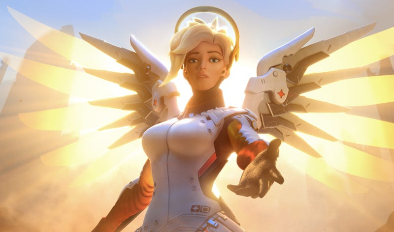 Overwatch: Here's a Breakdown of the New Mercy Changes