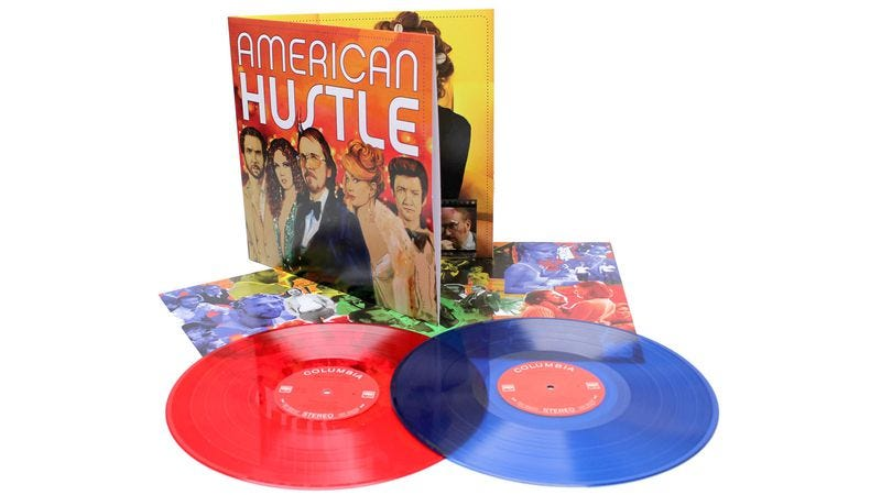Illustration for article titled Win a special edition re-release of the American Hustle soundtrack on vinyl