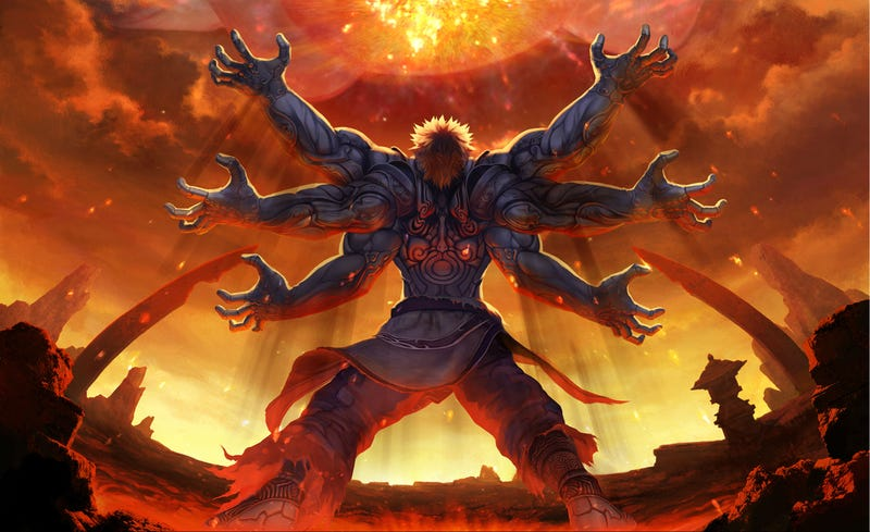 Illustration for article titled Nyren's Corner: I Could Really Use an Asura's Wrath Remaster