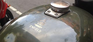 Illustration for article titled A Royal Enfield Is A Resplendent Work Of Art The World Over