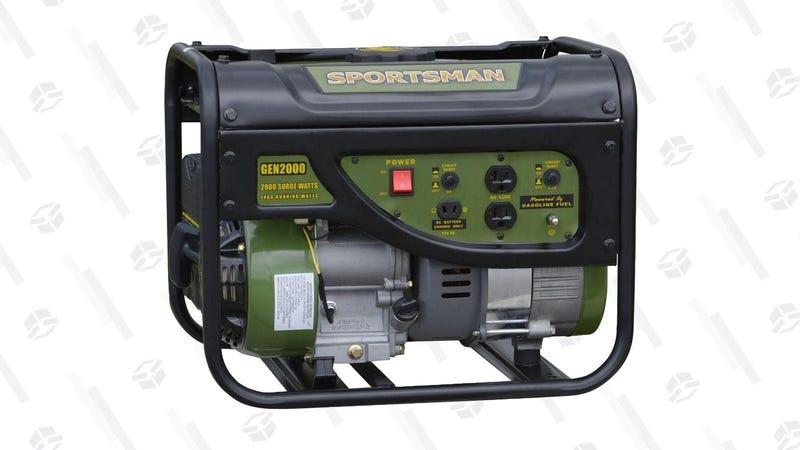 Sportsman 2,000 Surge/1,400 Running Watt Generator   $150   Walmart