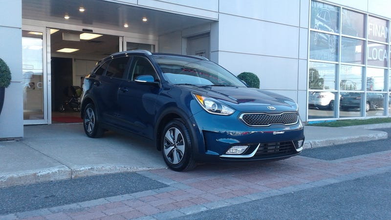 Illustration for article titled Wife's Kia Niro arrived