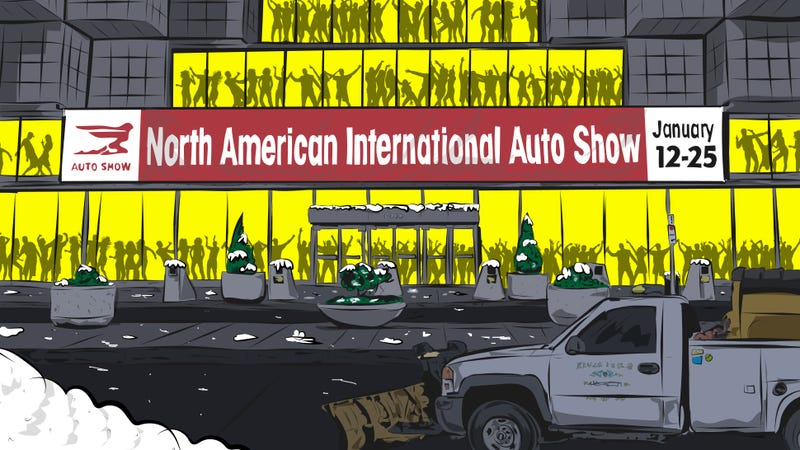 Illustration for article titled Everything That's Awful About The Detroit Auto Show