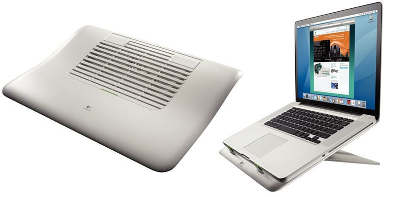 Illustration for article titled Logitech Fixes Your Laptop's Heat Problems, Slouchy Posture With the N100, N110