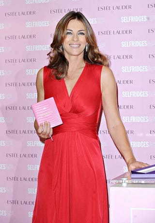 Illustration for article titled Elizabeth Hurley: The Lady In Red