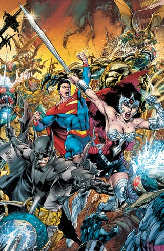 Illustration for article titled Comixology: Earth 2 Series Sale