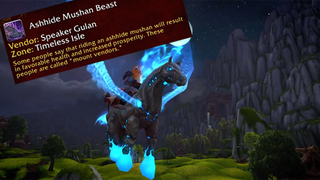 Illustration for article titled Blizzard Adds Silly Mount Descriptions In Warlords of Draenor Beta