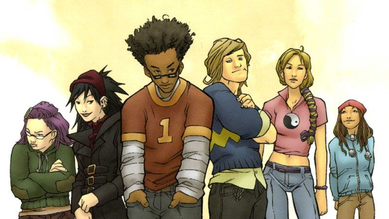 The Runaways (Image: Marvel)