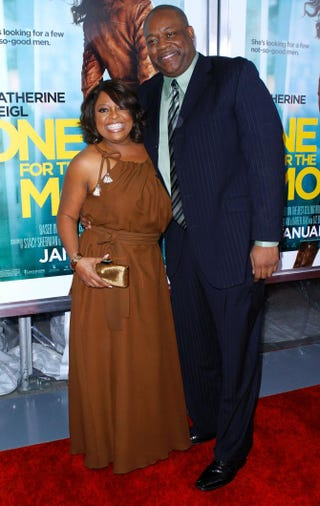 Sherri Shepherd and Lamar Sally attend the One for the Money premiere at the AMC Loews Lincoln Square on Jan. 24, 2012, in New York City.Donna Ward/Getty Images
