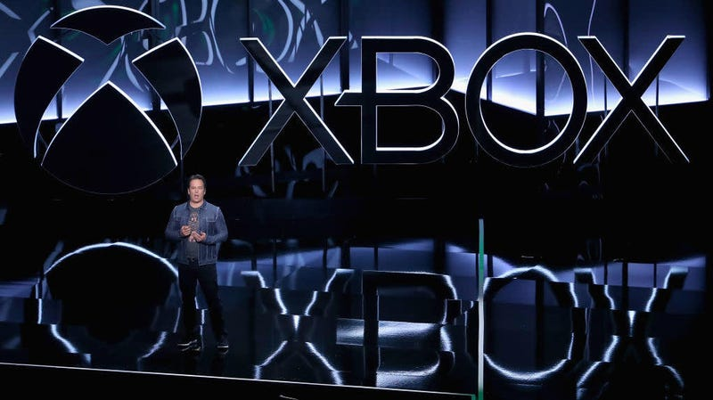 Xbox chief Phil Spencer addresses the crowd at the 2018 Xbox E3 briefing