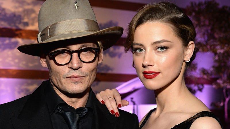 Illustration for article titled Oh Shit, Johnny Depp Got Married!