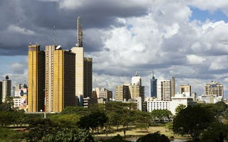 Nairobi, Kenya, skyline (Bloomberg/Getty Images)