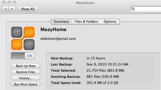 Illustration for article titled Mozy 2.0 for Mac Speeds Up Backups and Offers Native Looks