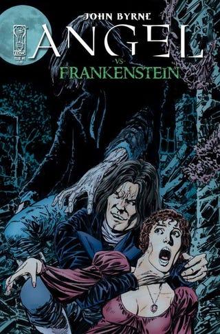 Illustration for article titled Angel Vs. Frankenstein Preview