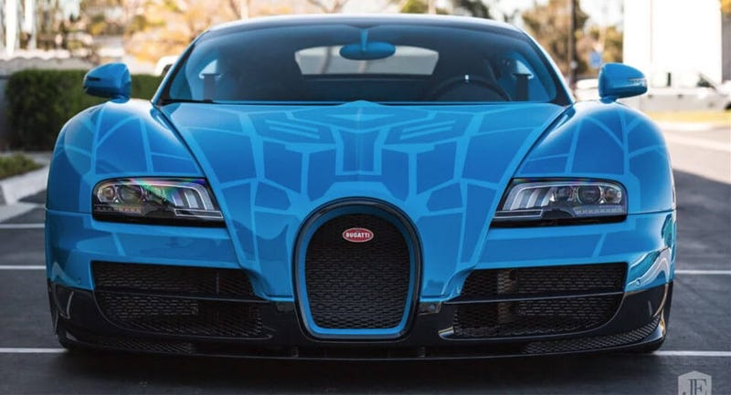 But Imagine Someone Actually Putting A Transformer Into A 2014 Bugatti  Veyronu2014or At Least Painting It Like Oneu2014and ...
