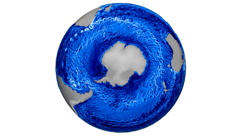 Illustration for article titled A Gorgeously Detailed View Of Antarctica's Churning Ocean Currents