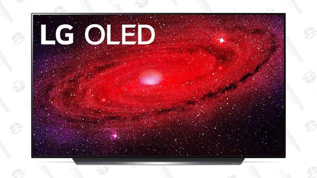The 77  4K OLED TV of My Dreams Is 34% off, Comes With a $400 Visa Gift Card and 2-Year Burn-in Warranty