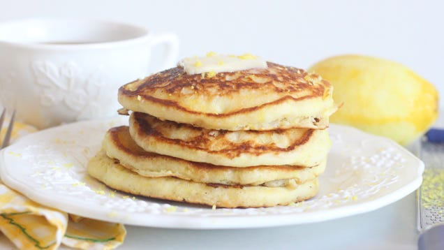 You Should Add Lemon Zest to Pancake Batter