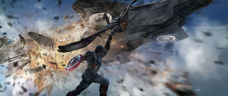 Illustration for article titled A Treasure Trove Of Captain America: The Winter Soldier Concept Art
